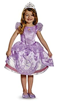 Disney Junior Sofia the First Deluxe Girls  Costume