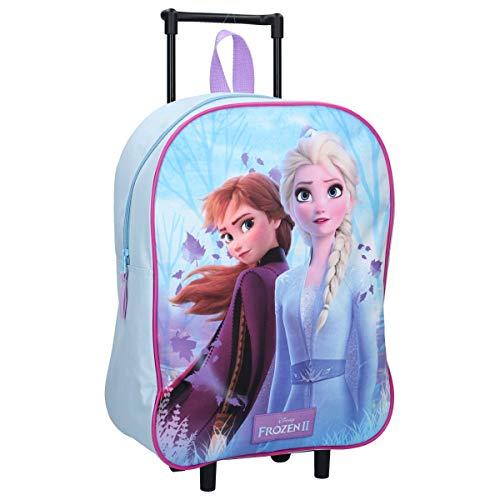 3822 OSAB-Fashion Kinder Rucksack Kinderucksack Trolley Koffer Tasche Eiskönigin Frozen (3822-Frozen-Eiskoenigin)