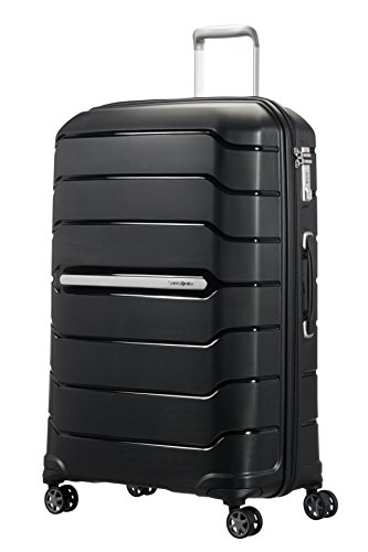 SAMSONITE Flux - Spinner 75/28 Expandable Bagage cabine, 75 cm, 121 liters, Schwarz