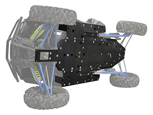 SuperATV Heavy Duty 1/2' ARMW Full Skid Plate for Polaris RZR XP 1000 - (2016+) - Full Machine Protection!