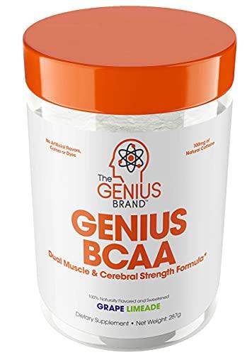Genius BCAA Powder – Nootropic Amino Acids & Muscle Recovery Drink |...