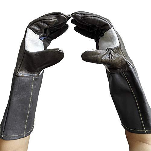 Anti-Animal Pak Handschoenen Dikker Leer Beschermende Handschoenen Anti-Kat Krabben Hond Ademhaling Hond Handschoenen 40Cm