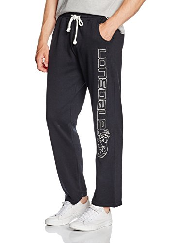 Lonsdale London Herren Hose Rock Stonesfield, Schwarz, S
