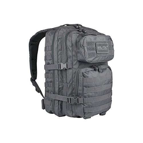 Mil-Tec US Assault Pack Backpack,S,Urban Grey
