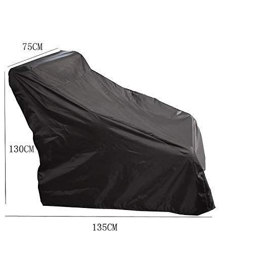 Zhimeio Elektro-Rollstuhl Staubschutz, Regenschutz Abdeckung Handtuch Abdeckung Stoff Sonnencreme wasserdicht Sonnenschirm Allrad Roller Staubschutz (Color : Grau, Size : 135 * 75 * 130CM)
