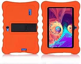 7 Inch Kids Tablet Cases Shockproof Silicone Cover for Dragon Touch Y88X Plus Y88X Pro/Haehne/YUNTAB Q88/ZONKO/Tagital T7K/Contixo/iRULU X37/SIXGO/INONI/LAMZIEN/Dasuy/CARRVAS Kids Tablet (Orange)