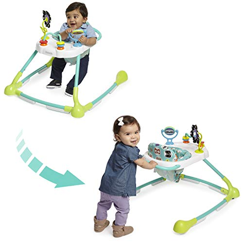 Kolcraft Tiny Steps Too 2-in-1 Infant & Baby Activity Walker - Seated or...