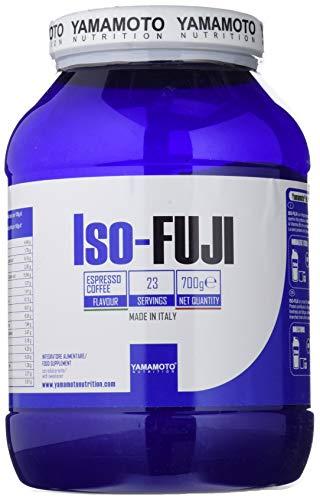 Yamamoto Nutrition Iso-FUJI proteine del siero di latte isolate ultrafiltrate - 700 g gusto Caffè