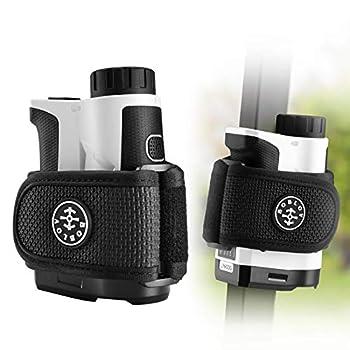 BOBLOV Golf Ranger Finder Magnet Holder Strap,Universal Magnetic Straps for All Brand Rangefinder 2pcs Big Strong Magnet&Adjustable Length ,Easily Stick for Golf Cart Railing  Magnetic Holder Strap
