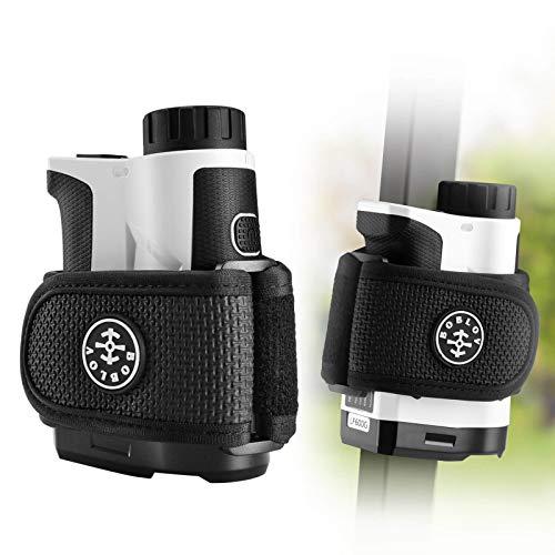 BOBLOV Correa de soporte magnético para telémetro de golf, correas magnéticas universales para todos los telémetros de marca, 2 imanes grandes y fuertes y longitud ajustable, se pega fácilment