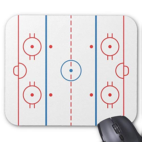 Drempad Gaming Mauspads Custom, Hockey Rink Mousepad
