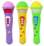 Zest 4 Toyz Musical Microphone Singing Mic Toy with 3D Lights and Self