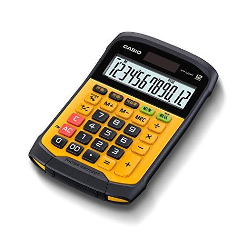 CASIO Tischrechner WM-320MT, 12-stellig, spritzwasser- und staubgeschützt, Steuerberechnung, Solar-/Batteriebetrieb