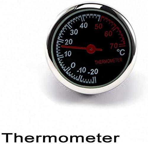 Taschen- und Armbanduhr Auto-Digital-Thermometer/Uhr/Hygrometer Ornament Auto-Uhr-Quarz-Taktgeber-Zeiger-Klimaanlage Outlet Clip (Color : Thermometer)