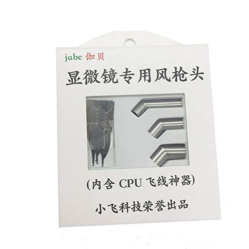 ExcLent Air Gun Düse für Mikroskop Jump Wire CPU Klinge für 861DW 856AX 731 Geneigte Lippe Mund Gun