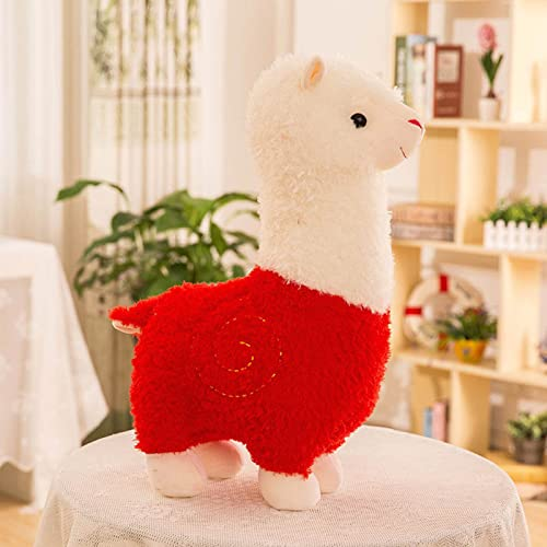 HUIJ Juguete de Felpa de Alpaca,Animal de Peluche de Llama Grande Llamacorn Alpaca Doll Plushie Hug Pillow Cojín Mullido Suave Peluche de Peluche de Alpaca Doll Toys Regalos para niños