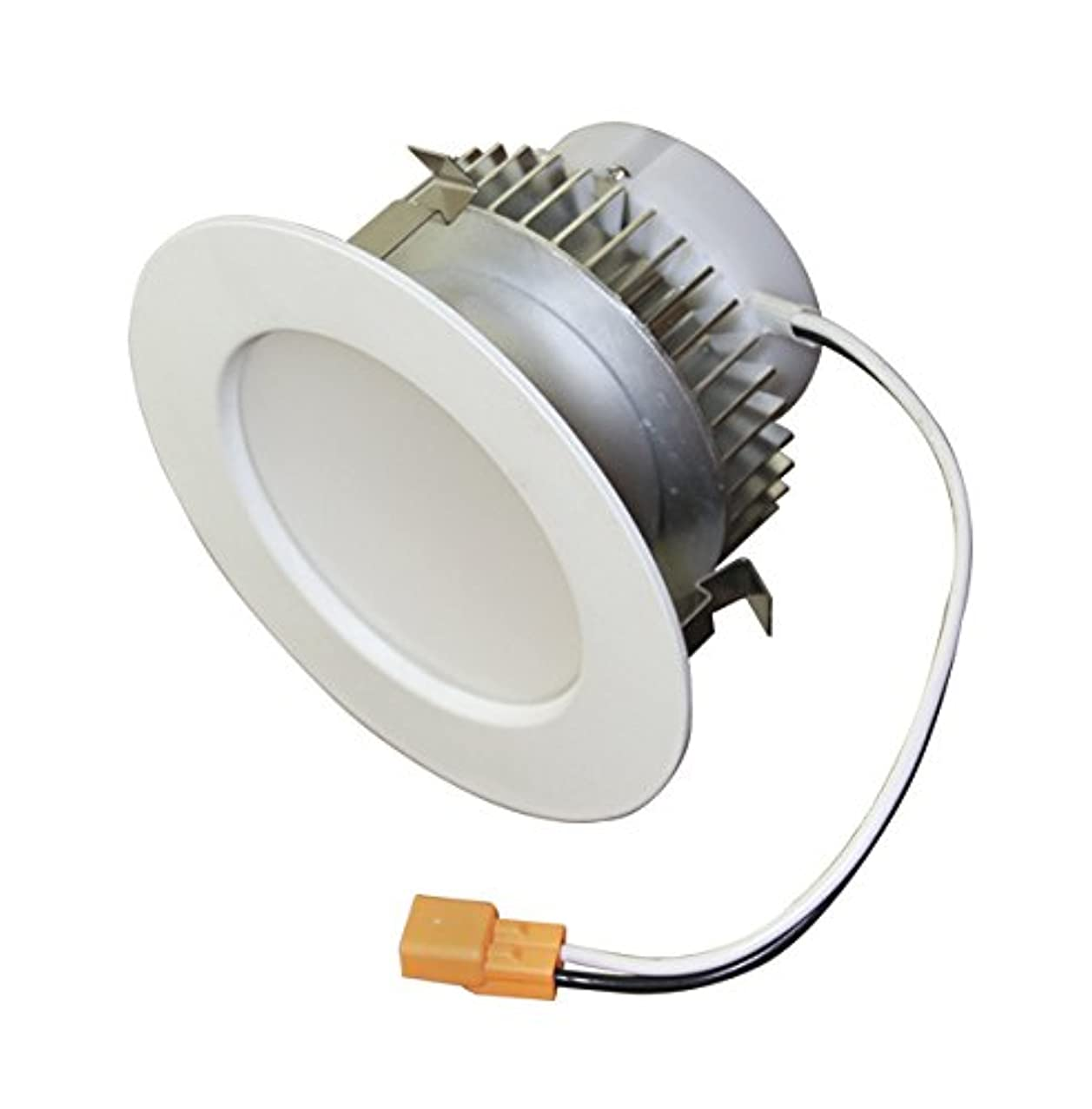 American Lighting EP4-E26-40-WH Samsung LED E-Pro Series Recessed Downlight, Dimmable, 7.6-Watts, 550 Lumens, 4000K Bright White, 4-Inch, White