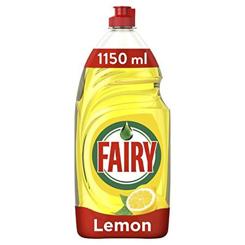 Fairy Original Washing Up Liquid Lemon with Liftaction, 1150 ml