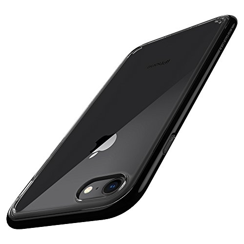 Spigen 054CS22367 Neo Hybrid Crystal 2 Cover iPhone 7 / iPhone 8 Flexible Inner Casing And Reinforced Hard Bumperper iPhone 7 / iPhone 8 - Nero