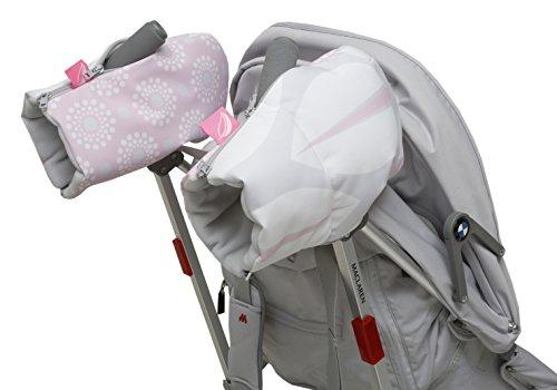 Motherhood - Manicotti Per Passeggino, In Softshell, Colore: Grigio