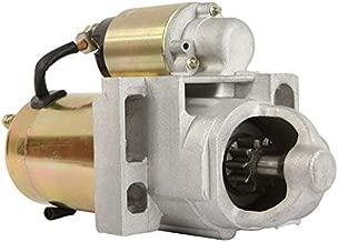 DB Electrical New SDR0086 Starter for Chevrolet Astro, Blazer, Express Vans, S10, Silverado GMC Jimmy, Safari, Savana, Sierra, Sonoma 4.3L 99 00 01 02 03 04 12563176 12563719 12563828 12564107