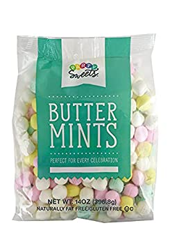 Party Sweets Assorted Pastel Buttermints 14 Ounce Appx 100 pieces from Hospitality Mints