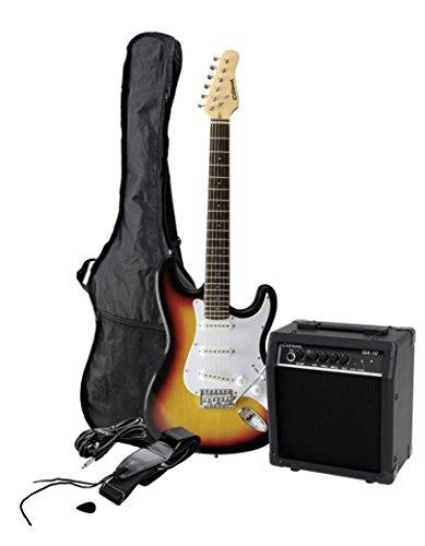 C.Giant T327315 E-Gitarre Custom Pack sunburst mit Verstärker