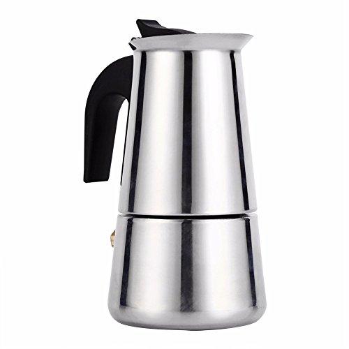asx kombinowany ekspres do kawy Moka espresso ekspres do kawy garnek kuchenka narzędzie filtr perkolator latte fortepian ekspres do kawy kawiarnia ekspres do kawy naczynia do kawy (kolor: 300 ml)