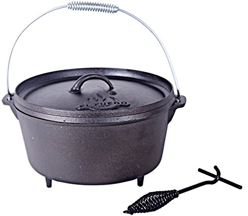El Fuego Dutch Oven 15,04 L, schwarz