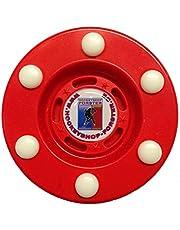 Stilmat IHD - Disco de hockey en línea, color rojo