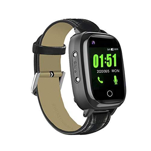 4G GPS Smart Watch per bambini anziani, 4G monitoraggio della frequenza cardiaca della pressione sanguigna Smartwatch, WiFi Phone Call, SOS allarme anti-perso GPS Tracker