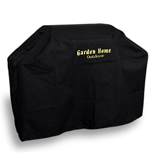 "Garden Home Outdoor Heavy Duty Grill Cover 3 Year Warranty, 68"", Black"