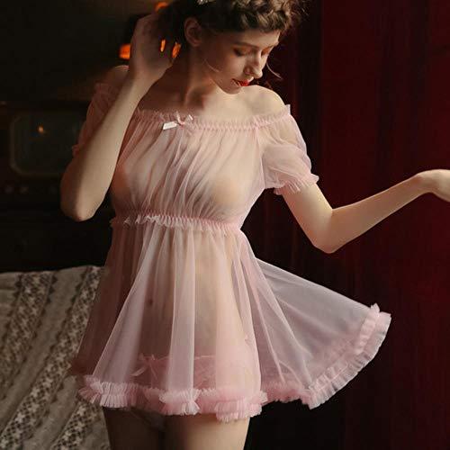 Pijamas Transparentes De Las Mujeres Delgadas del Verano Má