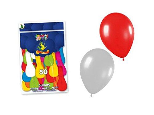 Lote de 10 Bolsas de Globos Colores Surtidos (500 Globos). Juguetes y Regalos Baratos para Fiestas de Cumpleaños, Bodas, Bautizos, Comuniones y Eventos.