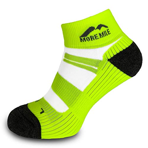 More Mile Endurance Cushioned Running Socks (5 Pair Pack) Anti Blister, Compression Arch Brace Sports Socks, Lightweight & Long Lasting… (Colour Pack, 8.5-10.5)