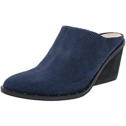 top rated Maxwell Dr. Scholl – Original Collection Navy Linear Embossed Suede 8.5 2021