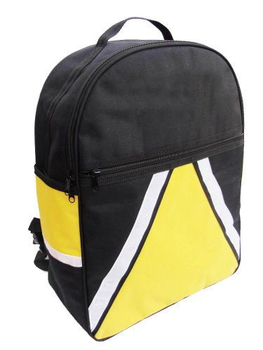 High Visibility Mobility Scooter Bag with Optional Crutch Walking Stick Holders