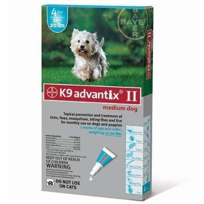Flea Treatment for Dog 11-20 lbs by K-9 Advantix
