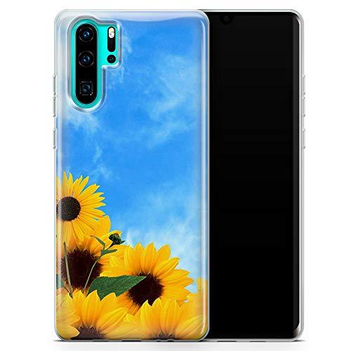 Design Phone Case for Huawei P40 Lite . Sunflower Field D001 - Design 1