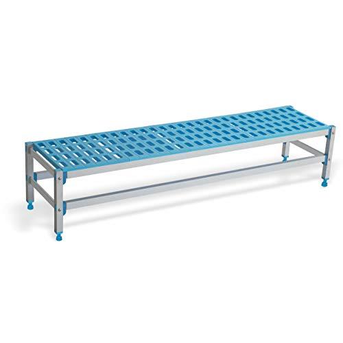 Pujadas P7614 - Estantería de aluminio y polipropileno (1045 x 385 x 280 mm)