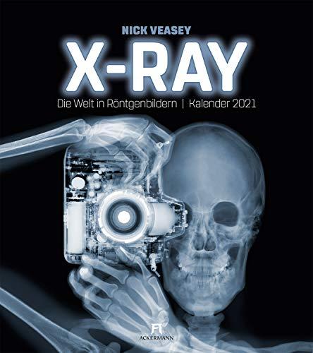 X-Ray - Nick Veasey, Die Welt in Röntgenbildern, Kalender 2021, Wandkalender im Hochformat (48x54 cm) - Röntgen-Kalender