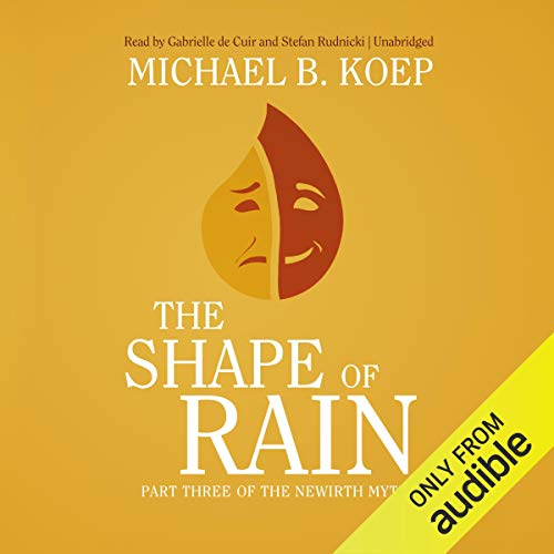 The Shape of Rain audiobook cover art