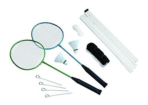 Set da Badminton con Rete per 2 Giocatori Traditional Garden Games