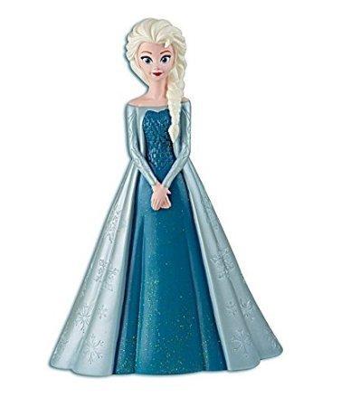 Samorthatrade 9 Inch High Plastic Disney Princess Frozen Queen Elsa Coin Bank Molded Coin Piggy Saving Bank with Pink Wallet