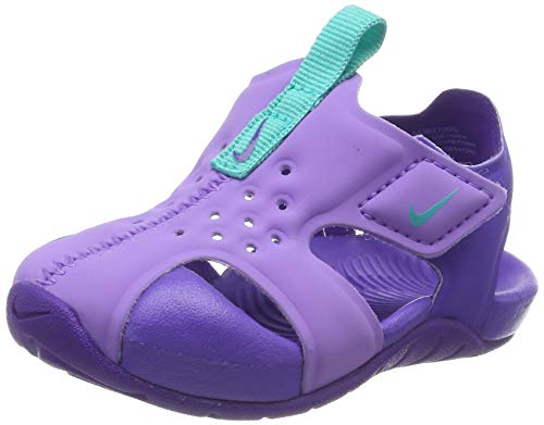Nike Jungen Sunray Protect 2 (TD) Gymnastikschuhe, Violett (Atomic Violet/Hyper Jade/Hyper Grape 500), 22 EU
