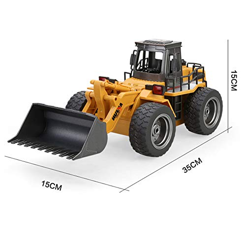 RC Auto kaufen Baufahrzeug Bild 2: omufipw 2,4 G Funksteuerung Bulldozer Frontlader Baufahrzeug Elektronisches Spielzeug RC Truck Traktor Junge Geschenk*