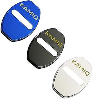 per Skoda Kamiq Combi Scala Octavia Rapid Superb Karoq Kodiaq 2016-2020 ASHDelk Copripedale per Auto LHD AT MT Copripedali