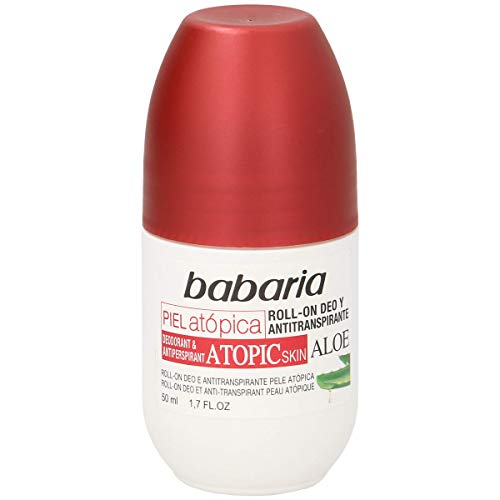 BABARIA Déodorant peau atopique roll on 50 ml