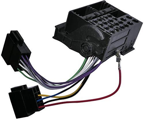 AERZETIX - Fascio adattatore - Cavo cablaggio - Spina ISO - Per autoradio - C11930
