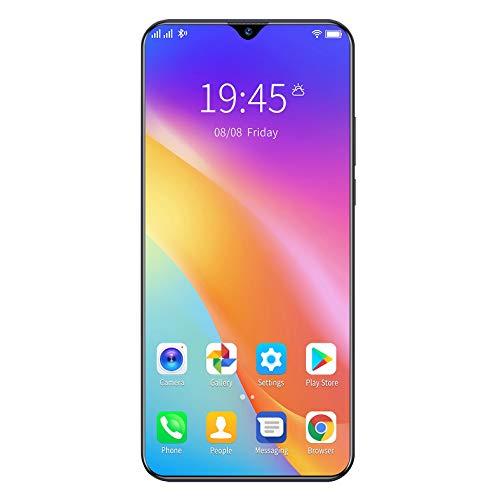 Gaoominy TeléFono Inteligente A92S TeléFono Inteligente de Pantalla Grande de 6.53 Pulgadas 8MB + 1GB TeléFono Inteligente Android 5.1 4G + 2.0PM 5.0PM-Enchufe de la UE